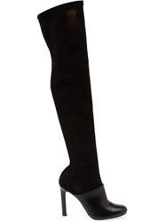 Premiata Thigh High Boots Black