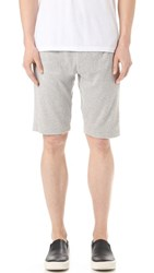 Theory Moris Marine Terry Shorts Grey Heather