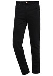 Your Turn Straight Leg Jeans Black Rinse Wash Black Denim