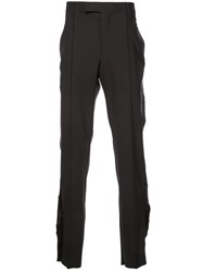 Yang Li Skinny Tailored Trousers Black