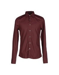 Gas Jeans Gas Shirts Maroon