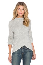 Free People Boho Wrap Sweater Gray