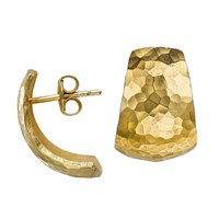 Dower And Hall Nomad Gold Chunky Hoop Earrings N A N A
