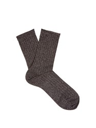 Falke Free Time Cotton Blend Socks Black