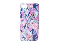Lilly Pulitzer Iphone 7 Classic Cover Indigo Sunken Treasure Cell Phone Case Multi