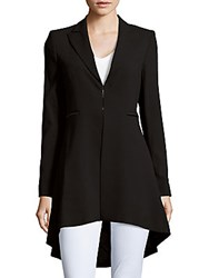 Alice Olivia Jordyn Collared Coat Black