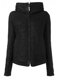 Isaac Sellam Experience Zipped Hooded Jacket Black