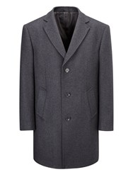 Skopes Men's Euston Overcoat Charcoal