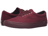 Vans Era Gold Mono Port Royale Skate Shoes Red