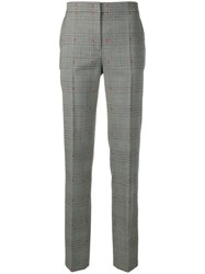 Alberta Ferretti Straight Leg Trousers Grey