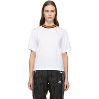 Etudes Studio White Altogether T Shirt