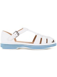 Church's Contrast Sole Sandals Women Calf Leather 37.5 White