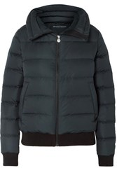 Perfect Moment Super Star Quilted Down Ski Jacket Black