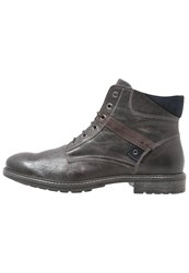 Pier One Laceup Boots Dark Gray Dark Grey