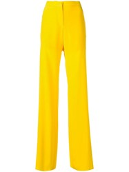 Emilio Pucci Wide Leg Trousers Yellow