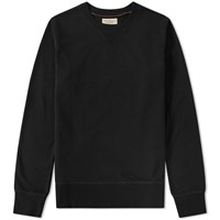 Nudie Jeans Sven Crew Sweat Black