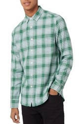 Topman Plaid Shirt Green