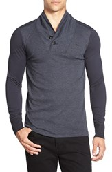 G Star Men's G Star Raw 'Harmezra' Shawl Collar Long Sleeve T Shirt