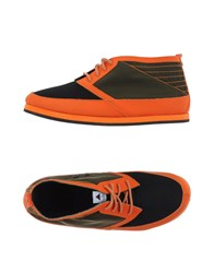 Volta Footwear Low Tops And Trainers Men Orange