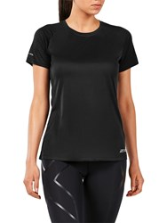 2Xu Xvent Short Sleeve Top Black