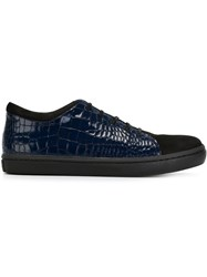 Opening Ceremony Lace Up Sneakers Blue