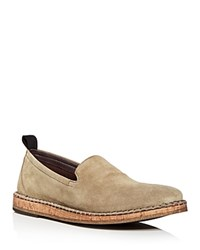 John Varvatos Star Usa Men's Zander Suede Loafers Light Brown