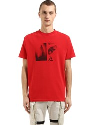 Alyx Wings Cotton Jersey T Shirt Red