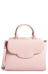 Kate Spade New York Leewood Place Makayla Leather Satchel None Pink Granite