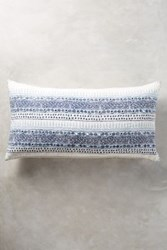 Anthropologie John Robshaw Primrose Pillow Blue