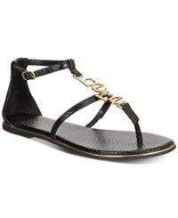 Bebe Pamelaa Flat Sandals Black