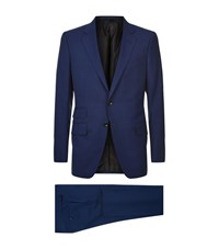 Tom Ford O'connor Travel Suit Male Blue