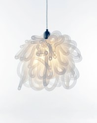 Innermost Kapow Pendant White 70 Inch Height