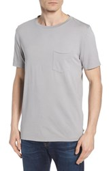 Ag Jeans Anders Slim Fit Pocket T Shirt Sun Faded Pebble Beach