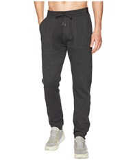 Pact Organic Cotton Jogger Charcoal Heather Casual Pants Gray