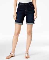 Styleandco. Style And Co. Caneel Wash Boyfriend Shorts Only At Macy's