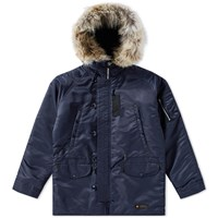 Neighborhood N3 B Parka Blue