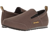 Evolv Cruzer Slip On Canteen Shoes Brown