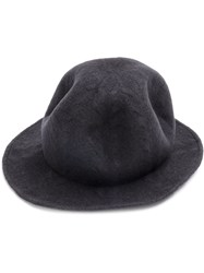 Ca4la Fedora Hat Men Nylon Wool One Size Grey
