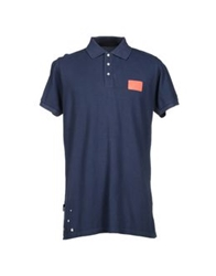 Blomor Polo Shirts Dark Blue