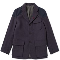 Nigel Cabourn Authentic Mallory Jacket Blue