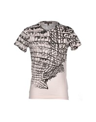 Roberto Cavalli Topwear T Shirts Men Light Pink