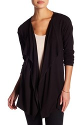 Vince Camuto Open Front Cardigan Petite Gray