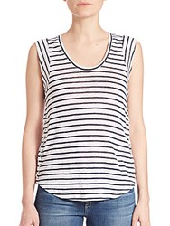 Generation Love Madge Lace Up Striped Tank Top