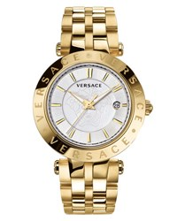 Versace 42Mm V Race Bracelet Watch W Interchangeable Rings Golden