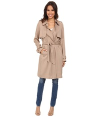 Vince Camuto Long Trench H8061 Naked Women's Coat Beige