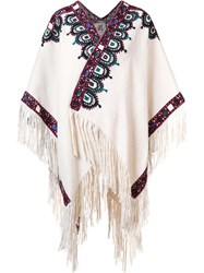 Figue 'Haveli' Poncho White