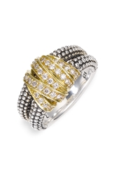 Lagos 'Embrace' Medium Ring Sterling Silver Gold