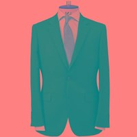 Chester Barrie By Windowpane Soho Suit Jacket
