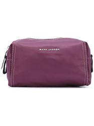 Marc Jacobs 'Easy' Make Up Bag Pink Purple