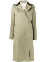 Helmut Lang Trench Coat Nude Neutrals